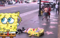 Sponge Bob Falls, Jews Save the Day