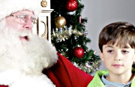 Jewish Kids Finally Meet Santa
