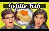 Kids vs. Gefilte Fish