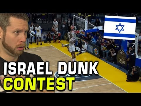 Israelis Can't Dunk. Even when they aren't Israelis